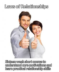 Laws of relationships couple short course